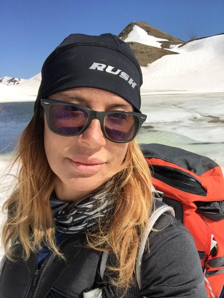 Federica Bartalini Coordinatrice di Avventure nel Mondo, operatrice naturalistico culturale, per Terre Ospitali si occupa di logistica e pianificazione ed è l'accompagnatrice ufficiale e la guida per tutti i cammini.